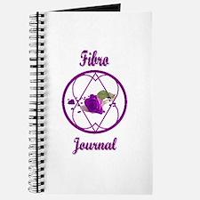 Fibro Purple Rose Hope-a-gram Journal