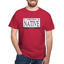 Virginia Plate NATIVE T-Shirt