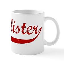 Mcallister (red vintage) Small Small Mug