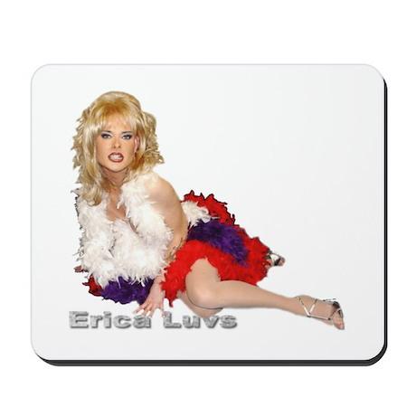 Erica Luvs Mousepad