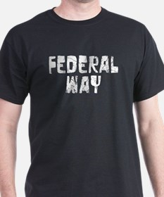 Federal Way Faded (Silver) T-Shirt