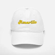 Retro Amarillo (Gold) Baseball Baseball Cap