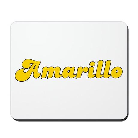 Retro Amarillo (Gold) Mousepad