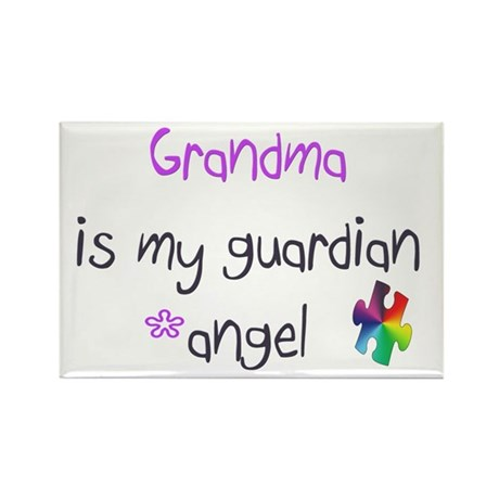 Angel Grandma Rectangle Magnet (100 pack)