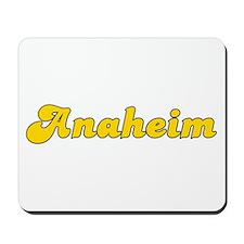 Retro Anaheim (Gold) Mousepad