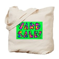 Garage Sale/ Yard Sale Tote Bag
