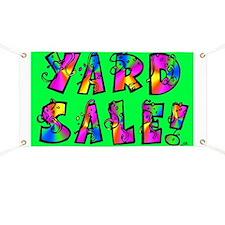 BANNER: Yard Sale!