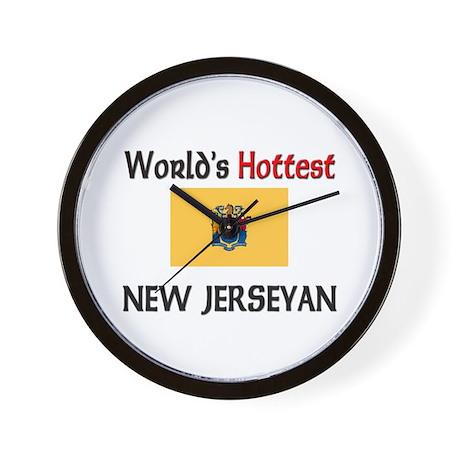 World's Hottest New Jerseyan Wall Clock