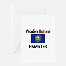 World's Hottest Hamster Greeting Card