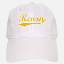 Vintage Kevon (Orange) Baseball Baseball Cap