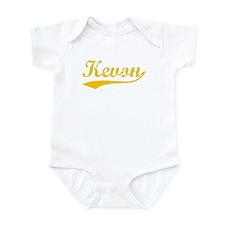 Vintage Kevon (Orange) Infant Bodysuit