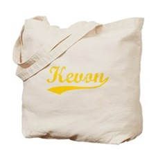 Vintage Kevon (Orange) Tote Bag