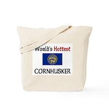 World's Hottest Cornhusker Tote Bag