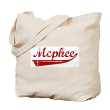 Mcphee (red vintage) Tote Bag