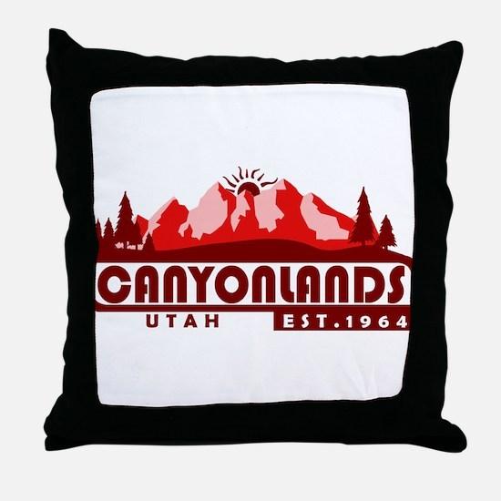 Canyonlands - Utah Throw Pillow