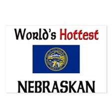 World's Hottest Nebraskan Postcards (Package of 8)