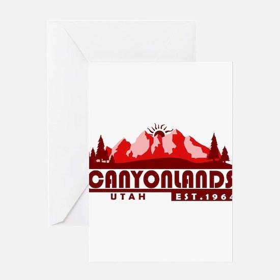 Canyonlands - Utah Greeting Cards