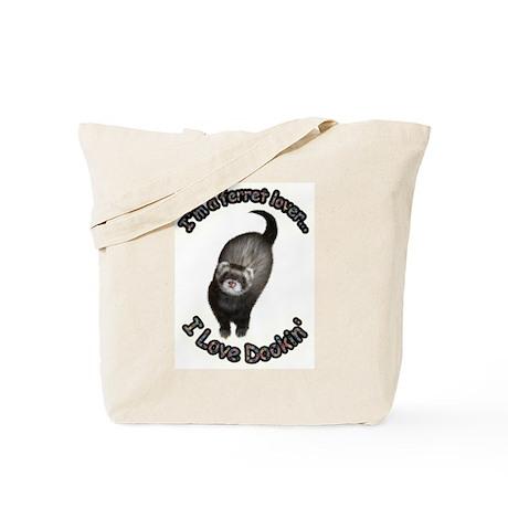 Ferret Lover Tote Bag
