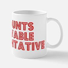 Retro Accounts Re.. (Red) Mug