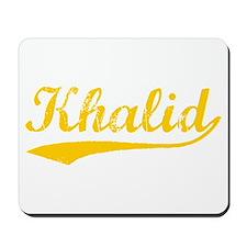 Vintage Khalid (Orange) Mousepad