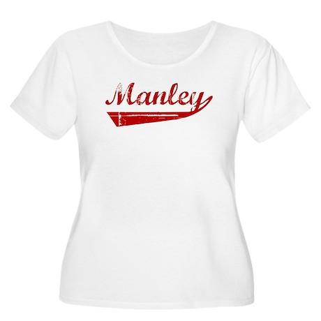 Manley (red vintage) Women's Plus Size Scoop Neck