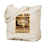 Kiss A Surprise Tote Bag