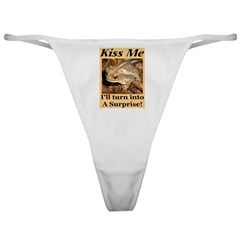 Kiss A Surprise Classic Thong