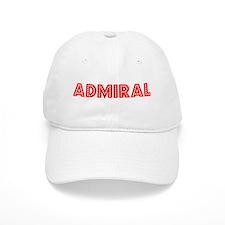 Retro Admiral (Red) Baseball Cap
