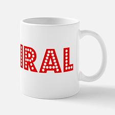 Retro Admiral (Red) Mug