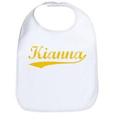 Vintage Kianna (Orange) Bib