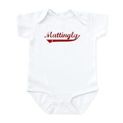 Mattingly (red vintage) Infant Bodysuit