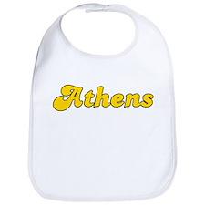 Retro Athens (Gold) Bib