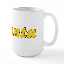 Retro Atlanta (Gold) Mug