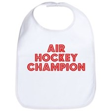 Retro Air Hockey .. (Red) Bib