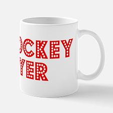 Retro Air Hockey .. (Red) Mug