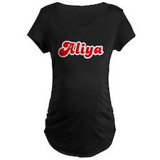 Retro Aliya (Red) T-Shirt