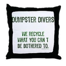Cute Eco Throw Pillow