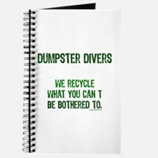 Unique Dumpster diving Journal