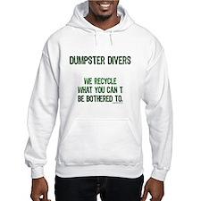Cute Dumpster diving Hoodie