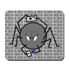Mr Spider Crawls Mousepad
