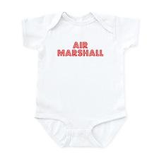 Retro Air Marshall (Red) Infant Bodysuit