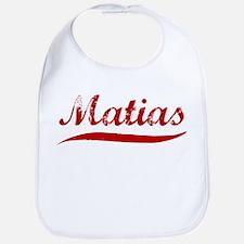Matias (red vintage) Bib