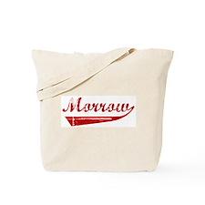 Morrow (red vintage) Tote Bag