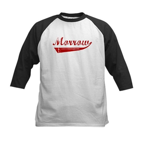 Morrow (red vintage) Kids Baseball Jersey