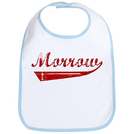 Morrow (red vintage) Bib