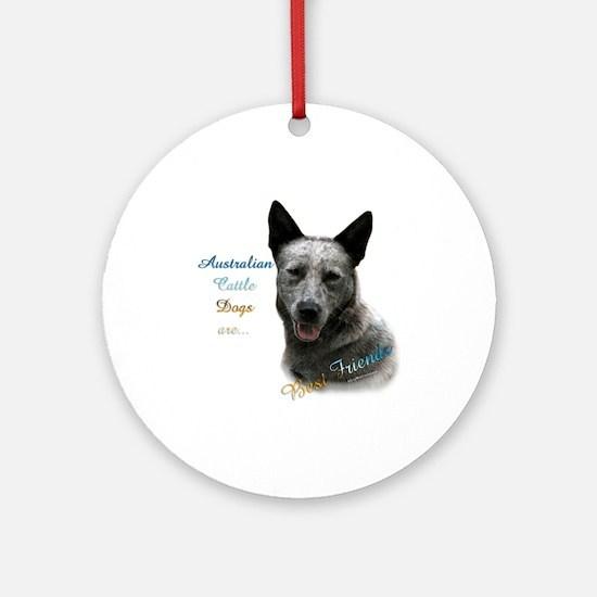 ACD Best Friend1 Ornament (Round)