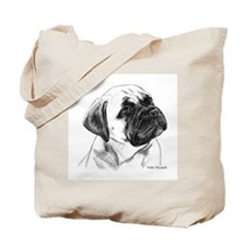 Unique Bullmastiff Tote Bag