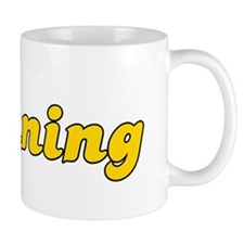 Retro Banning (Gold) Mug