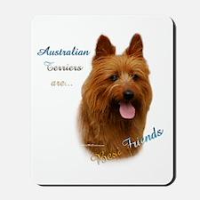 Aussie Terrier Best Friend1 Mousepad