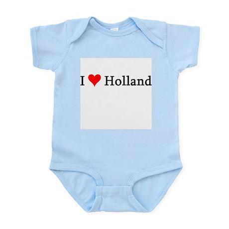 I Love Holland Infant Creeper